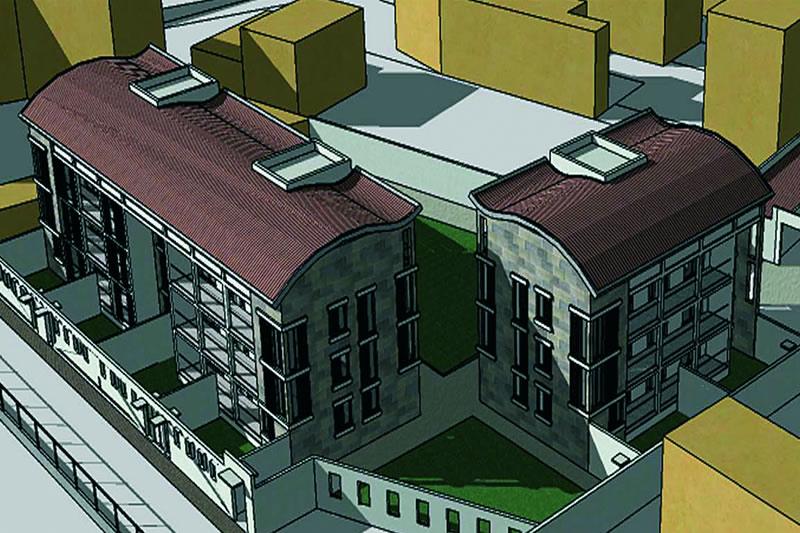 Pavia Residential buildings