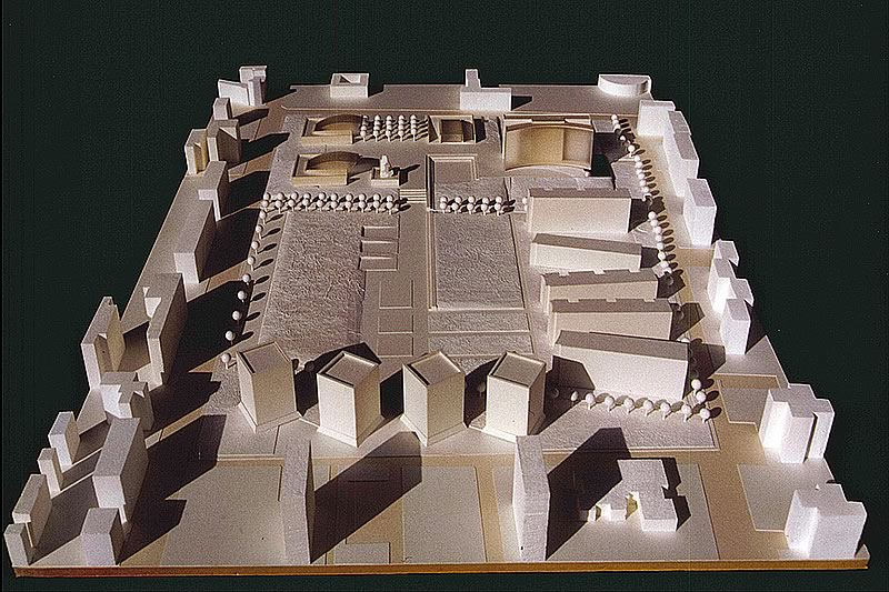 S. Donato project for the Urbanistic central area