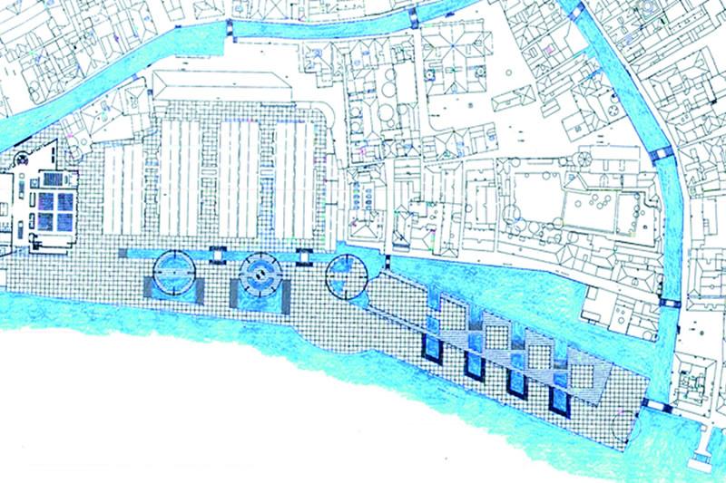 Venice  Project for a New Centre IUAV
